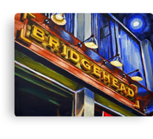 Bridgehead Canvas Print