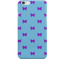 Blue and Purple Bows iPhone Case/Skin