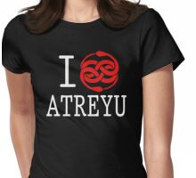I (Auryn) Atreyu Womens Fitted T-Shirt