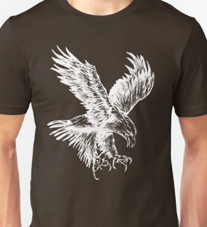 Bald Eagle (White) Unisex T-Shirt