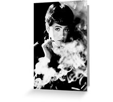 Rachael - Blade Runner Greeting Card