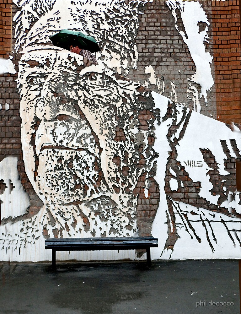 Graffiti Art Of VHILS by phil decocco