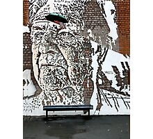 Graffiti Art Of VHILS Photographic Print