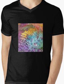 Who R U? Mens V-Neck T-Shirt