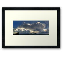 ©HCS Unchained Clouds I Framed Print