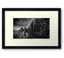 Hotshot Memorial 1 Framed Print