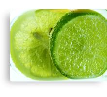 Lime Green Canvas Print