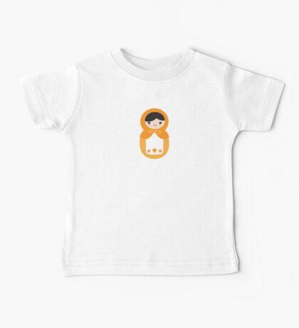 Matryoskha Doll - Peach Baby Tee