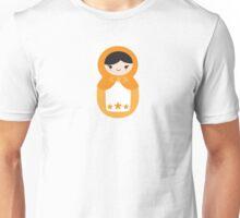 Matryoskha Doll - Peach Unisex T-Shirt