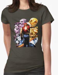 Fatal Fury Boss Rush Womens Fitted T-Shirt