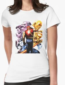 Fatal Fury Boss Rush Womens Fitted T-Shirt