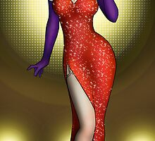 Jessica Rabbit by CatAstrophe