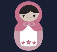 Matryoskha Doll - Bubblegum Pink Kids Tee