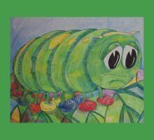 Sad Caterpillar One Piece - Short Sleeve