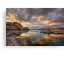 Granite Monsoon Canvas Print