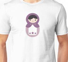 Matryoskha Doll - Grape Juice Purple Unisex T-Shirt