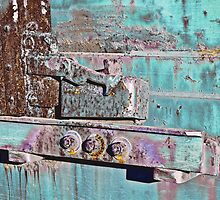 Box Car Grunge IV by Lisa G. Putman