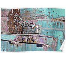 Box Car Grunge IV Poster