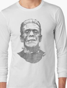 Franky goes to the Hollywood Cemetary Long Sleeve T-Shirt