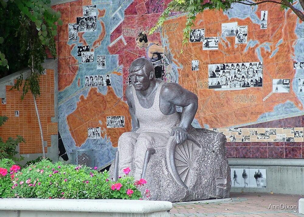 Statue in Vancouver by AnnDixon