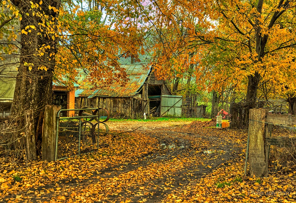 Autumn Dreams - Walwa Victoria - The HDR Experience by Philip Johnson