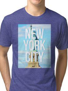 liberty. Tri-blend T-Shirt