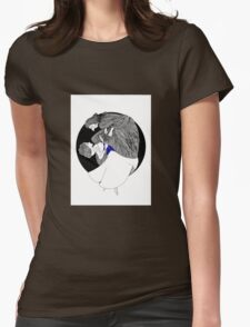 Snow's Corset Womens Fitted T-Shirt