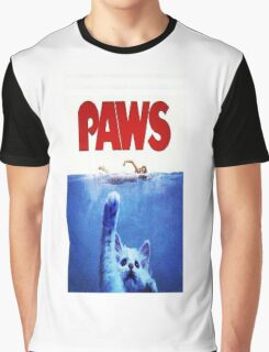 PAWS Graphic T-Shirt