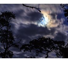 Moon Break Photographic Print