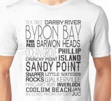 Aussie Beaches Unisex T-Shirt
