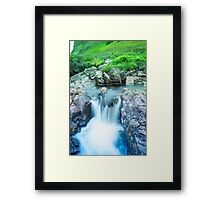 Waterfall - Near Ullapool Framed Print