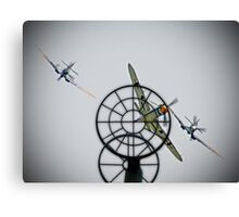 3 to 1 Outgunned!!  - Duxford Flying Legends 2013 Canvas Print