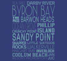 Aussie Beaches by foreverchildish