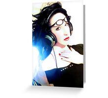 Cool as . . .  Self Portrait Greeting Card