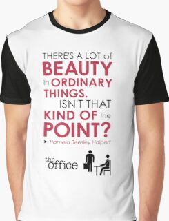 The Office Finale -- Pam Graphic T-Shirt