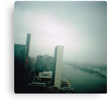 """""""How was New York?"""" """"Grey."""" Canvas Print"""