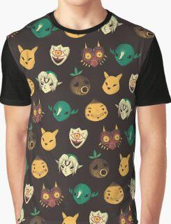 pattern of masks Graphic T-Shirt