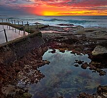 Curl Curl Sunrise by Ian English