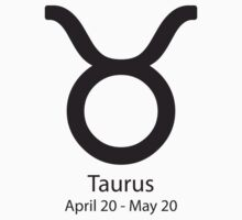 Zodiac sign Taurus April 20 - May 20 by Adrian Bud