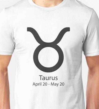Zodiac sign Taurus April 20 - May 20 Unisex T-Shirt