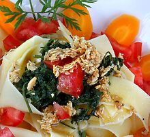 Tagliatelle alla Casa con Pesto di Mandorle by SmoothBreeze7