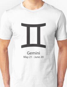 Zodiac sign Gemini May 21 - June 20 T-Shirt