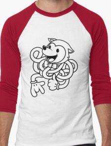 Noodle Fox Men's Baseball ¾ T-Shirt