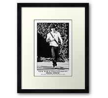 Nick Jonas - I Walk Alone Framed Print
