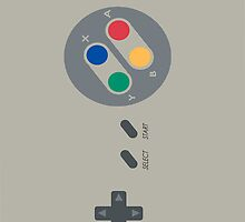 SNES by catimatittycat