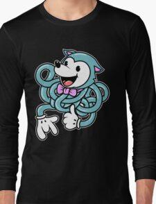 Blue Noodle Fox Long Sleeve T-Shirt