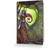 Earth Fairy Greeting Card