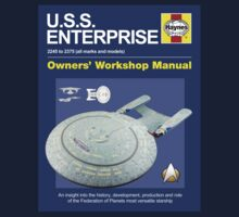U.S.S. Enterprise Haynes Manual by Jonathan Carre
