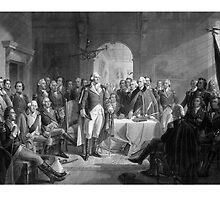 Washington Meeting His Generals by warishellstore