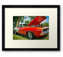 Oooh Barracuda Framed Print
